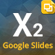 X2 Google Slides Presentation Template - GraphicRiver Item for Sale