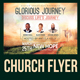 Glorious Journey Church Flyer Template - GraphicRiver Item for Sale