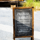 Chalk Black Board Show Selling Lists at Farmer Market - PhotoDune Item for Sale