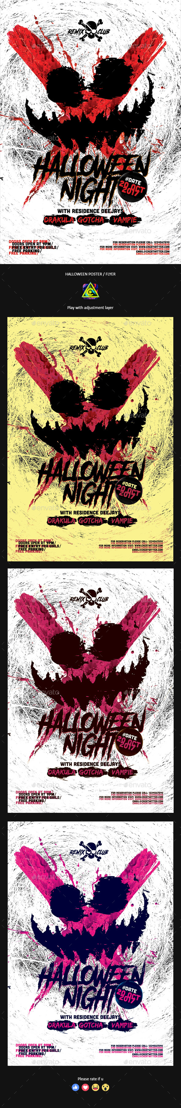 GraphicRiver Halloween Poster Flyer 20782820