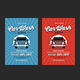 Vintage Car Wash Flyer - GraphicRiver Item for Sale