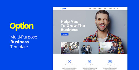 ThemeForest Multi-Purpose Business Template 20648447