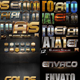 30 Bundle 3D Text Styles D30-D32