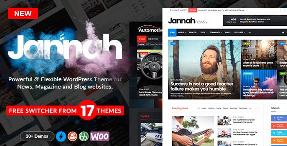 Jannah News - Newspaper Magazine News AMP BuddyPress