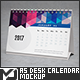 A5 Desk Calendar Mock-Up - GraphicRiver Item for Sale