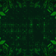 Green Hi-Tech Circuit Board Background