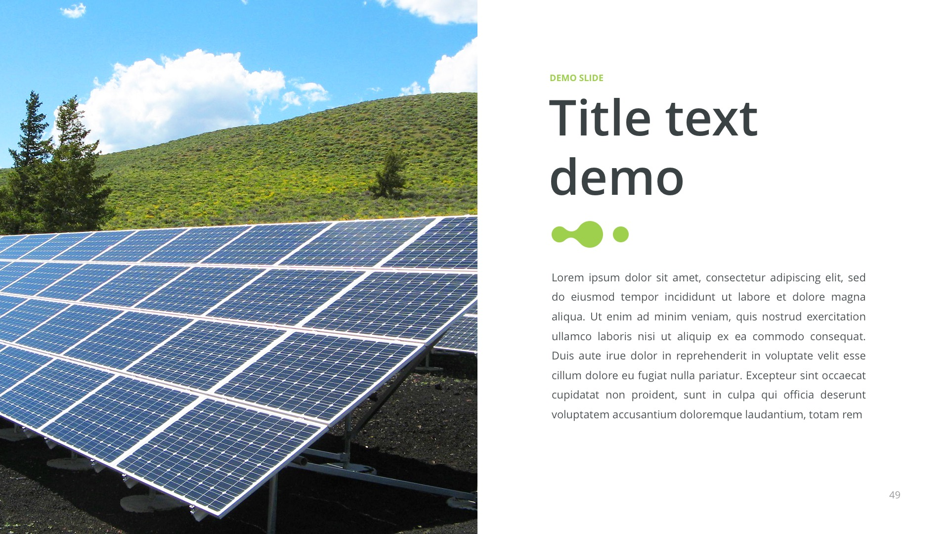 Green energy powerpoint template by site2max graphicriver green energy powerpoint template toneelgroepblik Gallery