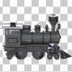 Metal Toy Train - VideoHive Item for Sale