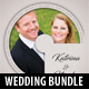 4 in 1 Wedding CD Cover Templates Bundle V3