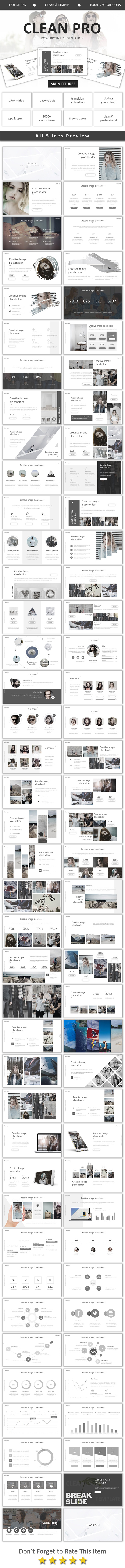 GraphicRiver Clean Pro Powerpoint 20784166