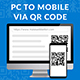 PC to Mobile Via QR Code