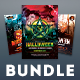 Halloween Flyer Bundle Vol.04 - GraphicRiver Item for Sale