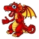 Cartoon Thumbs Up Dragon - GraphicRiver Item for Sale