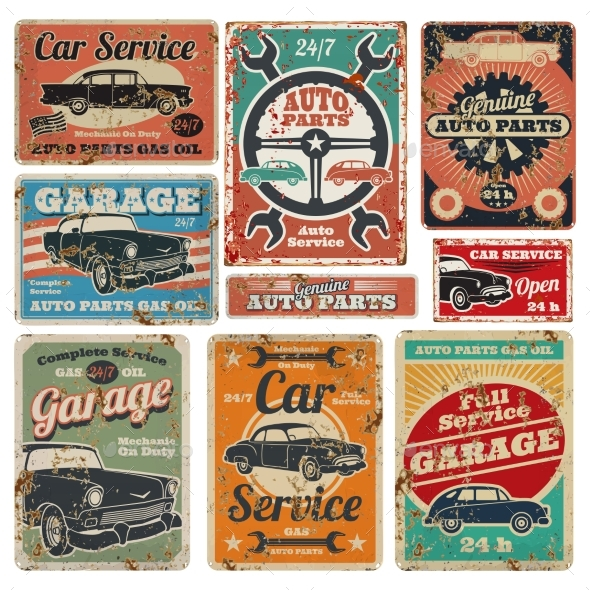 Vintage Road Vehicle Repair Service