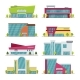 Shopping Center, Mall and Supermarket Modern Flat - GraphicRiver Item for Sale