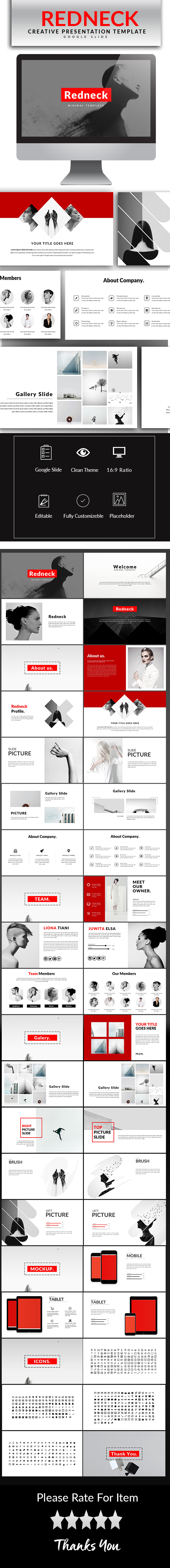 GraphicRiver Redneck Google Slide Template 20785173