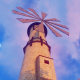 Windmills and Clouds - VideoHive Item for Sale