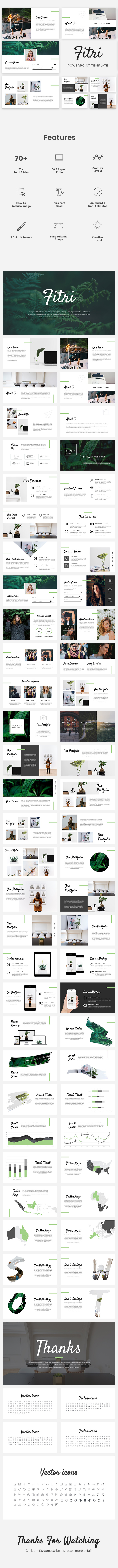 Fitri - Creative Google Slides Template - Google Slides Presentation Templates