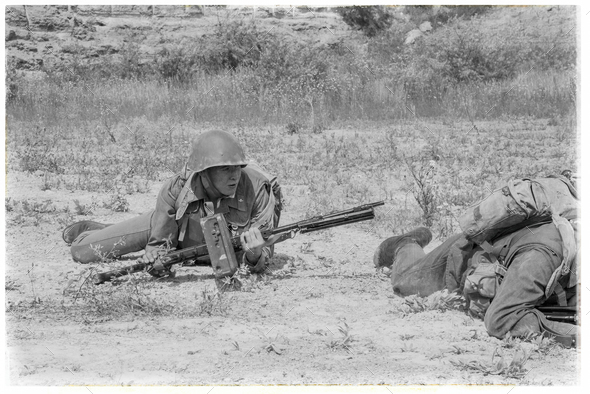 Soviet Spetsnaz in Afghanistan - Stock Photo - Images