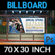 Bazaar Billboard Template - GraphicRiver Item for Sale