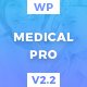 MedicalPro - Health and Medical WordPress Theme - ThemeForest Item for Sale