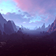 The Mountain Landscape Of The Space Planet - VideoHive Item for Sale