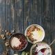 Variety bowls of porrige - PhotoDune Item for Sale