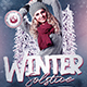 Winter Solstice Flyer Template V2 - GraphicRiver Item for Sale