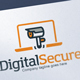 Digital Security Agency Logo Template | Security Camera | Online Security Web Camera Logo Template