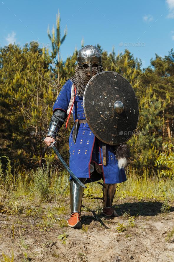 Mongol horde warrior - Stock Photo - Images