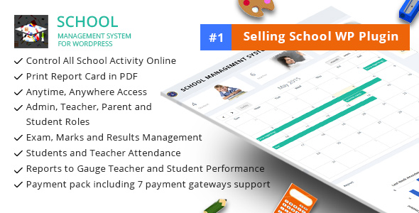 School Management System For Wordpress By Dasinfomedia CodeCanyon