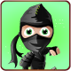 Ninja Run Adventure - 21 levels - HTML5 Game Fullscreen display - Web & Mobile + AdMob (CAPX)