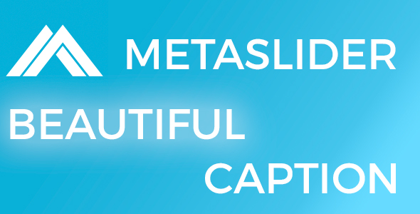 CodeCanyon Meta Slider Beautiful Caption 20786788