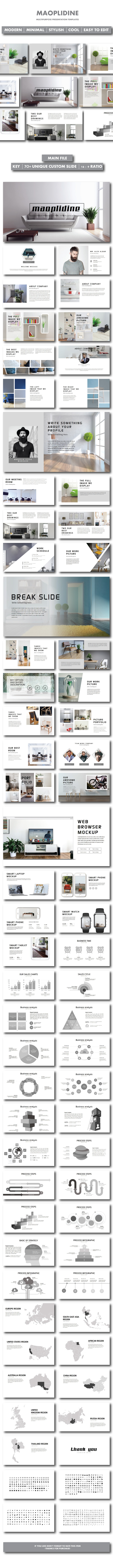 GraphicRiver Maoplidine Keynote Templates 20786815