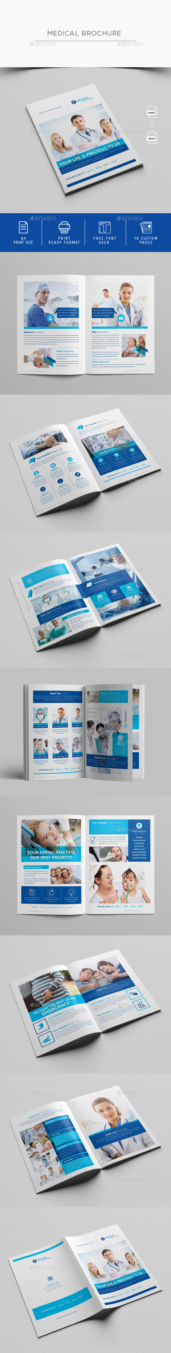 Medical Brochure Template - Informational Brochures