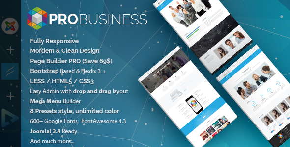 ProBusiness | Multi-Purpose Joomla Template - Joomla CMS Themes