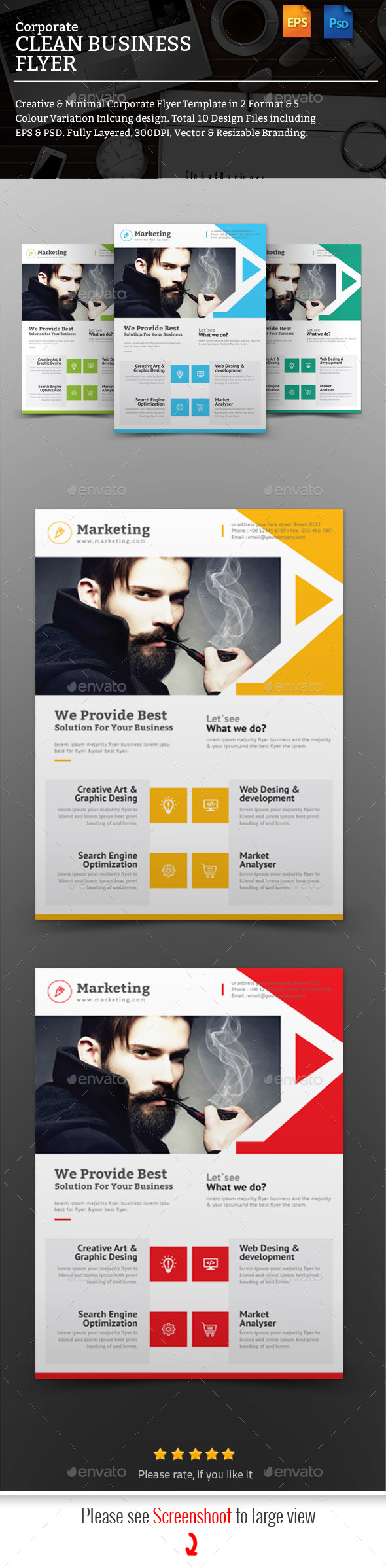 GraphicRiver Flyer 20787503