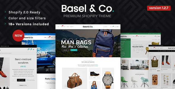 Image of Basel - Responsive eCommerce Shopify Theme (Fashion, Electronics and many more)