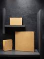 cardboard box on black background - PhotoDune Item for Sale