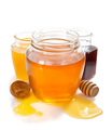 variety of honey in jar white background - PhotoDune Item for Sale