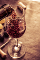 wine glass and grapes - PhotoDune Item for Sale