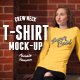 Female T-shirt Mock-up - GraphicRiver Item for Sale