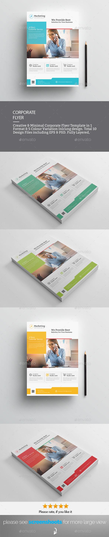 GraphicRiver Corporate Flyer 20787938