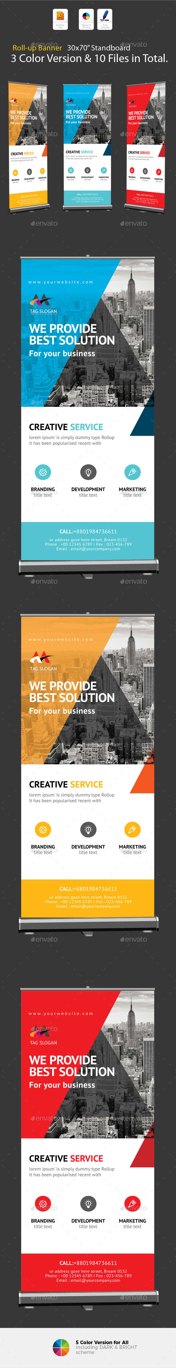 GraphicRiver Roll-up Banner 20788152