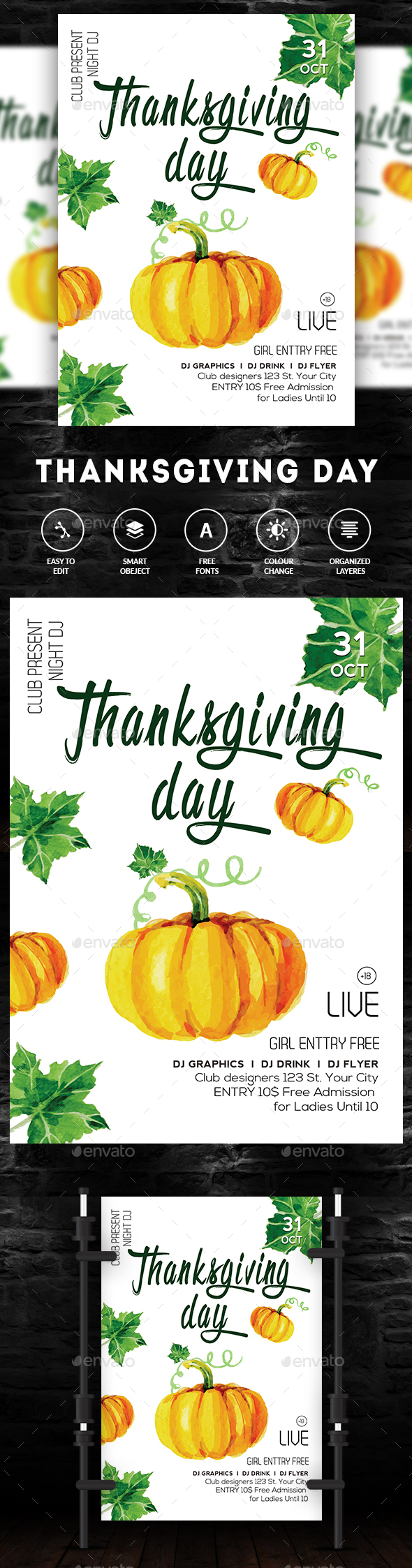 Thanksgiving - Clubs & Parties Events