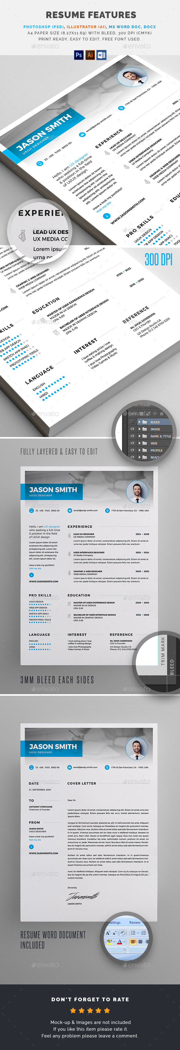 GraphicRiver Resume 20788639