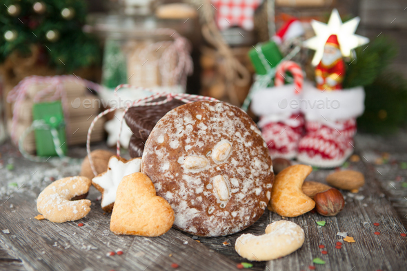 Christmas treats - Stock Photo - Images