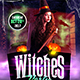 Witches Party Flyer Template - GraphicRiver Item for Sale