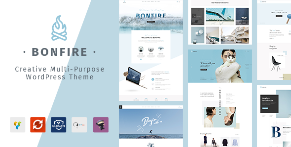 Bonfire - Creative Multipurpose WordPress Theme - Creative WordPress