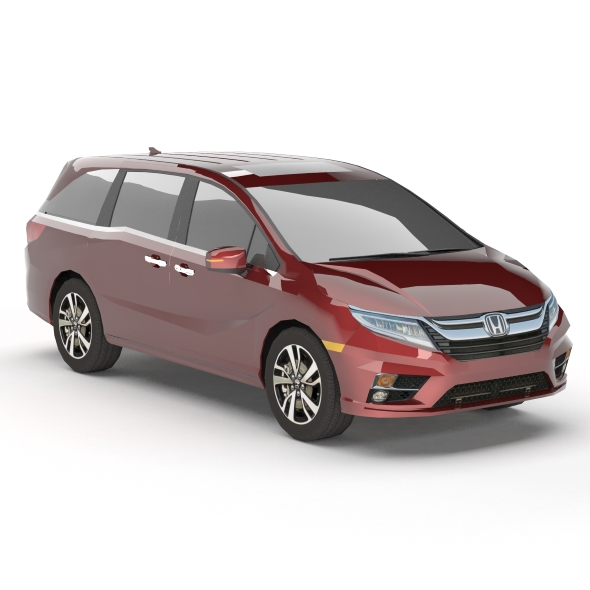3DOcean Honda Odyssey Elite 2018 low poly 20788916